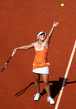 Melanie Oudin (USA) at Roland Garros 2011 Royalty Free Stock Images