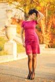 melankolisk lady Fotografering för Bildbyråer