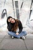 Melankolisk musik Fotografering för Bildbyråer