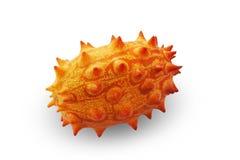 Melano, Kiwano oder gehörnte Melonen-Frucht Lizenzfreies Stockfoto