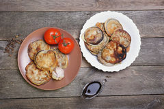Melanzana in pastella Fotografie Stock