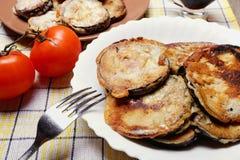 Melanzana in pastella Fotografia Stock