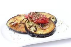 Melanzane fritte Fotografia Stock Libera da Diritti