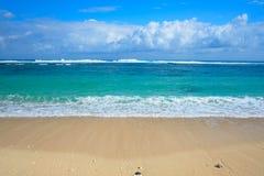 Melasti海滩Ungasan r 免版税库存照片