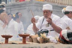 Melasti Bali Fotografia Stock Libera da Diritti