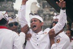 Melasti Bali Fotografia Stock