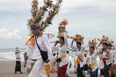 Melasti Bali Immagini Stock