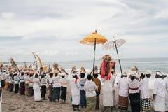 Melasti Bali Stock Image