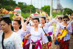 Melasti ritual - dag av tystnad Royaltyfria Bilder