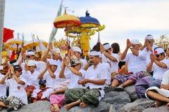 Melasti Ritual -Day of Silence Royalty Free Stock Photo