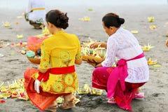 Melasti Ritual -Day of Silence Royalty Free Stock Photos