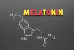 melatonin stock de ilustración