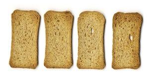 Melba Toast Stockbild