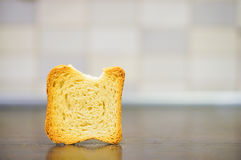 Melba toast Royalty Free Stock Image