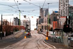Melboure city. Stock Photography