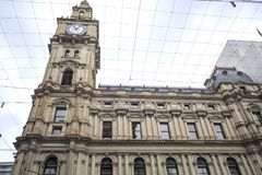 Melbourne – General Post Office Building. View of the iconic General Post Office, built in Renaissance Revival style between 1860 and 1907, in Melbourne Stock Photos