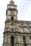 Melbourne – General Post Office. View of the iconic General Post Office, built in Renaissance Revival style between 1860 and 1907, in Melbourne, Victoria Royalty Free Stock Image