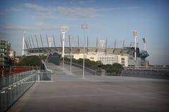 Melbourne świerszcze uziemienia zdjęcia stock