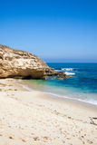 melbourne дезертированный пляжем ближайше Стоковое Изображение RF