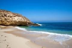 melbourne дезертированный пляжем ближайше Стоковое Фото