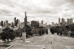 Melbourne stockbilder