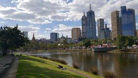 melbourne stockbild