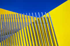 Melbourne_Abstract2. Abstract large scale architectural forms Royalty Free Stock Photo