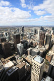 Melbourne aerial view Royalty Free Stock Image