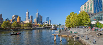 Melbourne afrernoon gondola ride Royalty Free Stock Photography