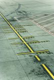 Melbourne Airport runway Royalty Free Stock Photography
