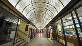 Melbourne Arcade Mall Lizenzfreie Stockfotografie