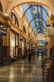 Melbourne Arcade Mall Lizenzfreies Stockbild