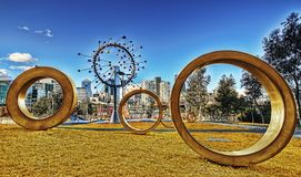 Melbourne Art Australia fotografie stock libere da diritti