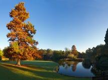 Melbourne auf einem Herbstmorgen Stockfotos