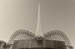 MELBOURNE, AUS - 10 OKTOBER, 2015: Structuur van Kunstencentrum Melb Stock Fotografie