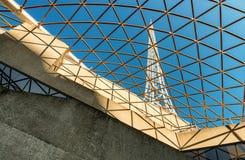 MELBOURNE, AUS - 10 OKTOBER, 2015: Structuur van Kunstencentrum Melb Stock Afbeelding