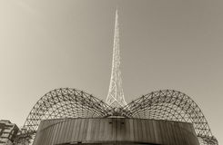 MELBOURNE, AUS - PAŹDZIERNIK 10, 2015: Struktura sztuki Centre Melba Fotografia Stock