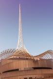 MELBOURNE, AUS - PAŹDZIERNIK 10, 2015: Struktura sztuki Centre Melba Obraz Royalty Free