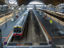 Melbourne, Australia - April 1, 2017: Southern Cross Railway sta Stock Photography