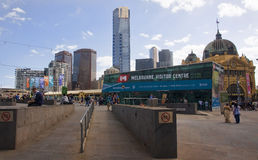 MELBOURNE, AUSTRALIA - DECEMBER 30, 2014: Melbourne Visitor Royalty Free Stock Photography
