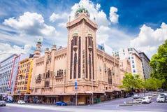 Famous Forum Theatre in Melbourne, Australia. Stock Image