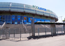 Rod Laver arena  at Australian tennis center in MELBOURNE, AUSTRALIA. Royalty Free Stock Image