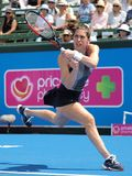 Tennis player Andrea Petkovic preparing for the Australian Open at the Kooyong Classic Exhibition tournament Stock Photos
