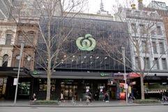 Free MELBOURNE, AUSTRALIA - JULY 26, 2018: Woolworth Metro Grocery Store In Swanston Street Melbourne Australia Stock Image - 156635191