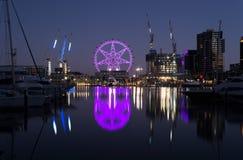 MELBOURNE AUSTRALIA, LUTY, - 21, 2016: Widok przy Melbourne gwiazdą Obraz Royalty Free