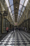 MELBOURNE, AUSTRALIA MAR 18TH: The Royal Arcade in Melbourne on Stock Photography