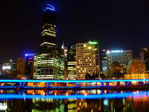 Melbourne Australia Skyline Stock Images
