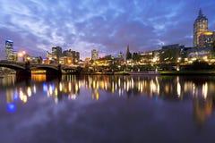 Melbourne Australien Arkivbilder