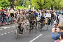 Melbourne, Australien - 14. März 2016: Die jährliche Moomba-Parade auf Straße St. Kilda lizenzfreies stockfoto