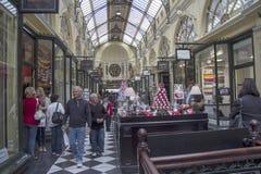 MELBOURNE, AUSTRALIEN AM 18. MÄRZ: Der königliche Säulengang in Melbourne an Lizenzfreies Stockfoto